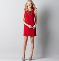 Love Red Dresses