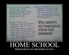 haters gonna hate... :) Homeschool rocks.