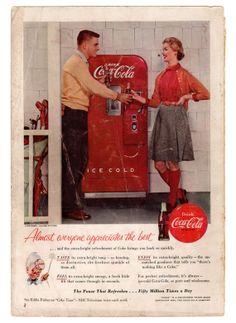 coca cola, vending machines, happi pinterest, golf ad, vend machin, happi birthday, golf pictur
