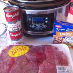 Crockpot Cube Steak & Gravy