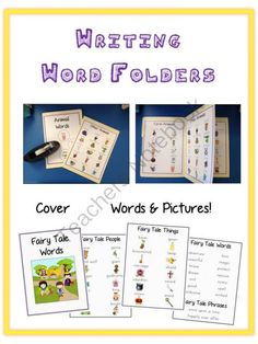 Writing Word File Folder - Thematic Folders! Enter for your chance to win.  Writing Word File Folder - Thematic Folders - Pictures - Word Walls (102 pages) from Lessons For Little Learners on TeachersNotebook.com (Ends on on 9-2-2014)  **Can't wait?? It's on sale for 40% off for a limited time!**   This download is for 20*** Word Wall Folders all around different themes. These are great to give more specific words to kids so that they can be more self sufficient when writing. Most ...
