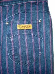 GitanoPinstriped Jean