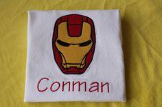 Iron Man Shirt by sarahsbabyemporium on Etsy, $22.00