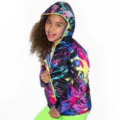 Denim Reversible Puffer Jacket from LittleMissMatched