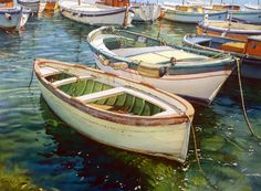 Beautiful water  (Joel Johnson watercolor)
