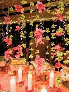 Hanging decorations-wedding.theknot.com