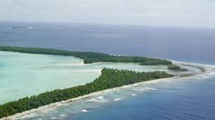Tuvalu, a tiny island nation that could disappear if sea levels continue to rise--better see it while you can!