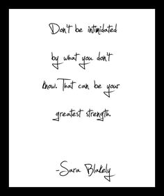 Sara Blakely - American businesswoman, founder of Spanx #internationalwomensday #sarablakely #spanx #inspiration #quotes