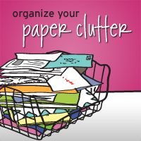 Enrollment closes 7/24/13 on this fun + fresh approach to ending paper clutter!