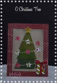 Artisan Wednesday Wow ~ O Christmas Tree  www.sleeplessstamper.com