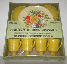 CORONA Dinnerware Scandia Melamine Set of 12