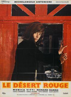 "Movie Poster of the Week: ""Red Desert"" on Notebook   MUBI"