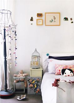 Whimsical little girls room