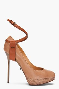 Lanvin - Ankle Strap Pumps