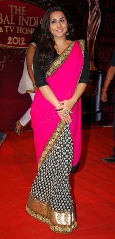 Vidya Balan: LOVE HER SARI