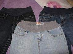 Comfortable AND Fashionable Adapted Jeans-waistbands can be uncomfortable for kids in wheelchairs or with feeding tubes, and this gives them a way to feel comfortable without sacrificing fashion. From Adapting Creatively. Pinned by SOS Inc. Resources @SOS Inc. Resources.