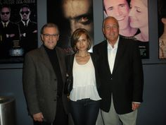 Doug Wagemann, Actress Torrey DeVitto and Mike Wargo, co-director of Okuyamba, at the screening last Wednesday night! #whpcd2012