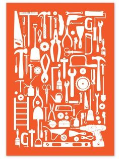 tool poster - Autumn, this would be cool in Cashe's room with that garage stuff I saw at Hobby Lobby