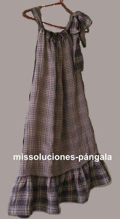 HACER UN VESTIDO SIN PATRONES: solución para hacerte un vestido si no sabes coser, ¡sí!, sin saber coser -