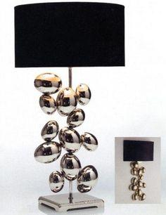INTERIORS UK 2012 - 80302  Nice lamp... Think designer took a hint from Anish Kapoor?