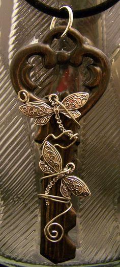 adorned key