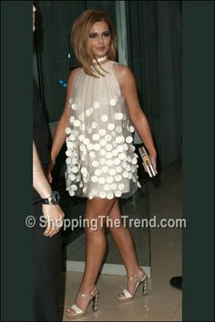cheryl cole stella mccartney dress birthday