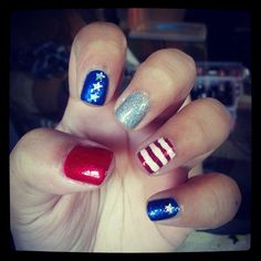 nolynoelia's festive tips. Show us your 4th of July-inspired nails! Tag your pic #SephoraNailspotting to be featured on our social sites.