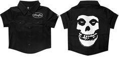Misfits- Kids Button Up by Sourpuss