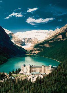 lake louise, alberta, fairmont chateau, louis canada, chateau lake