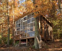 Couple Builds a House Made of Windows