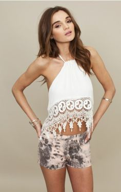 stone cold fox top and love those shorts