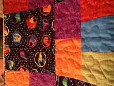Quilt made for Grandson