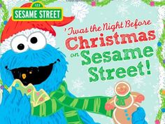 {giveaway} Win a copy of Twas the Night Before Christmas on Sesame Street, ends 12/1. Will make a great holiday gift or use it to read at night, before the holidays.