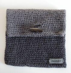 crochet pocket bag
