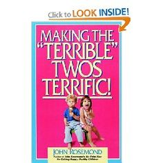 Making The Terrible Twos Terrific provides good insight on managing the typical behavior of your 18-36-month old child. It includes background on your child's mental and emotional development during this time period, and gives you a decent understanding of what they are thinking and experiencing. It also explains how to navigate this incredibly formative time period in ways that will have a lasting impact on how your child will act and carry themselves as a teen...and ultimately how they will...