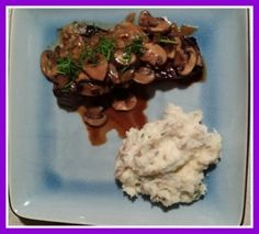 Quick Skillet Steak With Onions And Mushrooms Recipes — Dishmaps