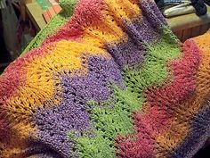 Edith's Baby Blanket By Edith Eig - Free Knitted Pattern - (ravelry)