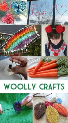 "Make It Crafty: Woolly Fun Crafts for Kids with ""Extra Yarn"""