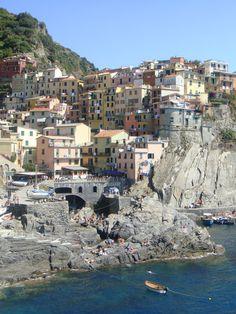 Cinque Terre, Italy by HN
