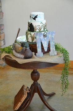 Groom's cake table