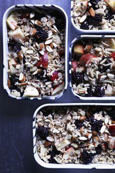 Lækre brunch-opskrifter - Rabarber crumble til din brunch