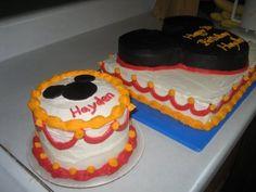 full cake and smash idea