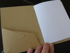 How to Make a Pocketed Booklet » Curbly | DIY Design Community