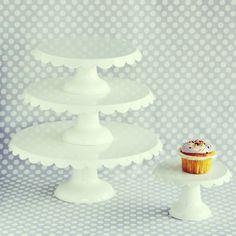 Enamel Cake Stands