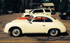Grocery Store Sigthing: 1955 Porsche 356A - http://barnfinds.com/grocery-store-sigthing-1955-porsche-356a/