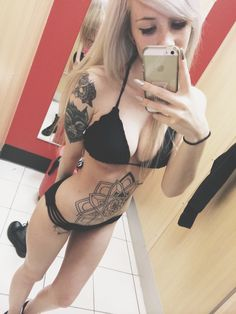 murderousbreakdowns:  Dressing room selfies while bathing suit shopping are a must.
