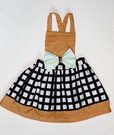 Fall Check Pinafore