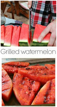 How to #grill a #watermelon