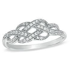 Double infinity promise ring - forever and always.