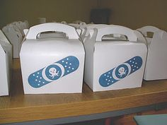Peso medical bag party food boxes
